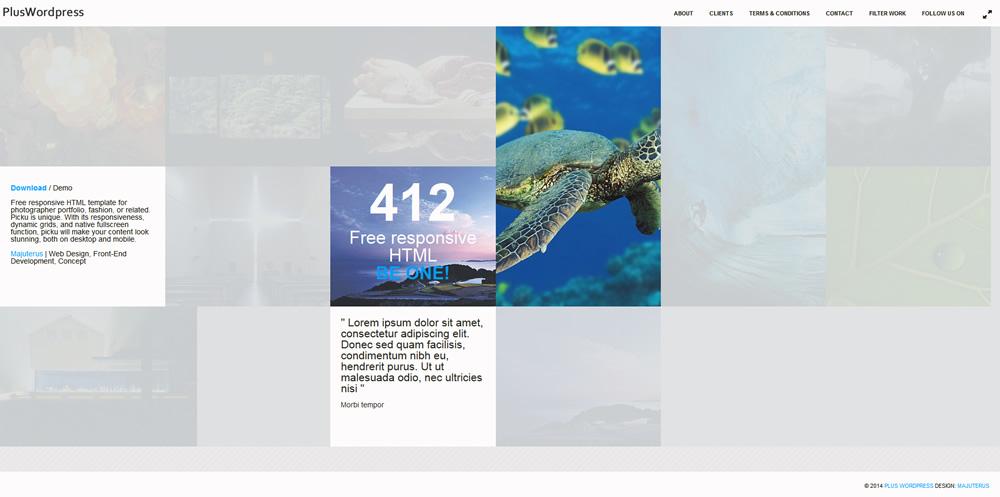 Plus WordPress Demo Site1