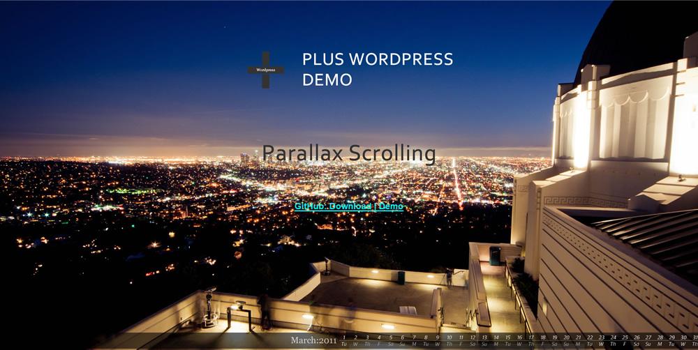 Plus WordPress Demo Site9
