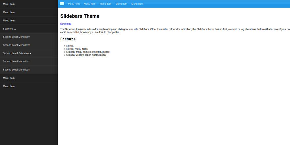Plus WordPress Demo menu3