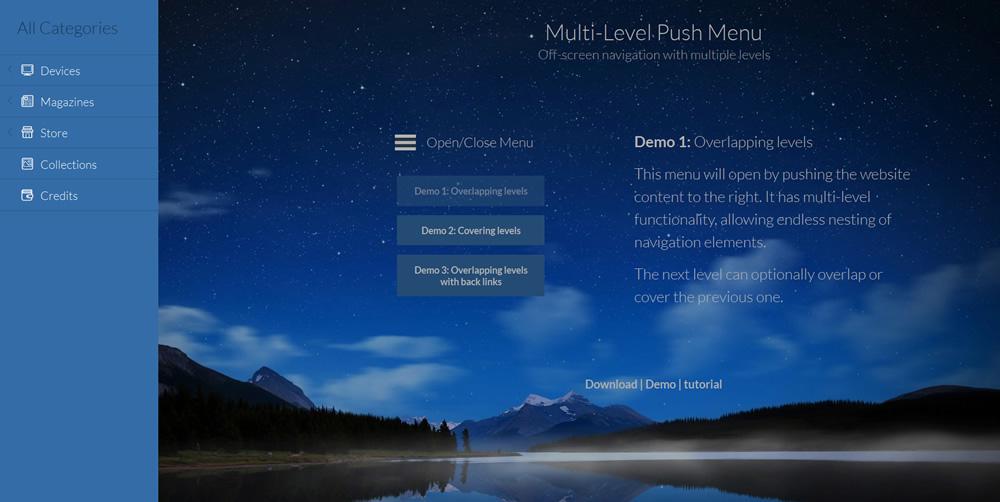 Plus WordPress Demo menu8